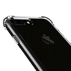 Silikon Hülle Handyhülle Ultra Dünn Schutzhülle Durchsichtig Transparent T06 für Apple iPhone 8 Plus Klar