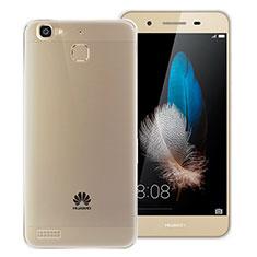 Silikon Hülle Handyhülle Ultra Dünn Schutzhülle Durchsichtig Transparent T06 für Huawei Enjoy 5S Grau