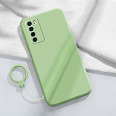 Silikon Hülle Handyhülle Ultra Dünn Schutzhülle Flexible 360 Grad Ganzkörper Tasche C01 für Huawei Honor Play4 5G Minzgrün