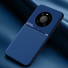 Silikon Hülle Handyhülle Ultra Dünn Schutzhülle Flexible 360 Grad Ganzkörper Tasche C01 für Huawei Mate 40 Blau