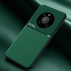 Silikon Hülle Handyhülle Ultra Dünn Schutzhülle Flexible 360 Grad Ganzkörper Tasche C01 für Huawei Mate 40 Pro Grün