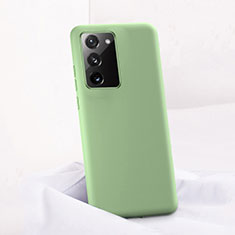 Silikon Hülle Handyhülle Ultra Dünn Schutzhülle Flexible 360 Grad Ganzkörper Tasche C01 für Samsung Galaxy Note 20 5G Grün