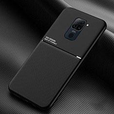 Silikon Hülle Handyhülle Ultra Dünn Schutzhülle Flexible 360 Grad Ganzkörper Tasche C01 für Xiaomi Redmi Note 9 Schwarz