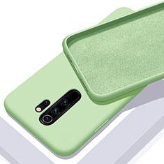 Silikon Hülle Handyhülle Ultra Dünn Schutzhülle Flexible 360 Grad Ganzkörper Tasche C02 für Xiaomi Redmi Note 8 Pro Grün