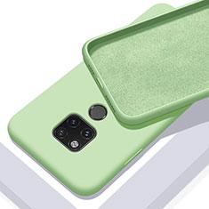 Silikon Hülle Handyhülle Ultra Dünn Schutzhülle Flexible 360 Grad Ganzkörper Tasche C03 für Huawei Mate 20 X 5G Grün