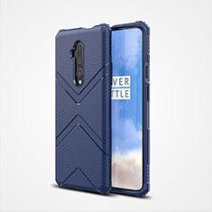 Silikon Hülle Handyhülle Ultra Dünn Schutzhülle Flexible 360 Grad Ganzkörper Tasche C03 für OnePlus 7T Pro Blau