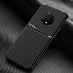 Silikon Hülle Handyhülle Ultra Dünn Schutzhülle Flexible 360 Grad Ganzkörper Tasche C03 für OnePlus 7T Schwarz