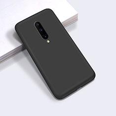 Silikon Hülle Handyhülle Ultra Dünn Schutzhülle Flexible 360 Grad Ganzkörper Tasche C03 für OnePlus 8 Schwarz