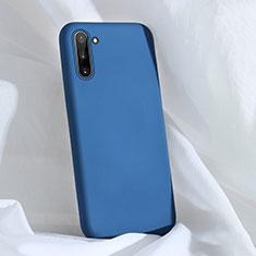 Silikon Hülle Handyhülle Ultra Dünn Schutzhülle Flexible 360 Grad Ganzkörper Tasche C03 für Samsung Galaxy Note 10 5G Blau