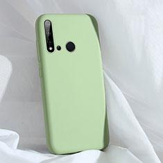 Silikon Hülle Handyhülle Ultra Dünn Schutzhülle Flexible 360 Grad Ganzkörper Tasche C04 für Huawei Nova 5i Grün