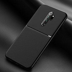 Silikon Hülle Handyhülle Ultra Dünn Schutzhülle Flexible 360 Grad Ganzkörper Tasche C04 für Xiaomi Redmi Note 8 Pro Schwarz