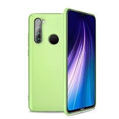 Silikon Hülle Handyhülle Ultra Dünn Schutzhülle Flexible 360 Grad Ganzkörper Tasche C04 für Xiaomi Redmi Note 8T Grün