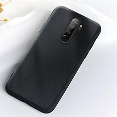 Silikon Hülle Handyhülle Ultra Dünn Schutzhülle Flexible 360 Grad Ganzkörper Tasche C05 für Xiaomi Redmi Note 8 Pro Schwarz
