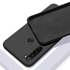 Silikon Hülle Handyhülle Ultra Dünn Schutzhülle Flexible 360 Grad Ganzkörper Tasche C05 für Xiaomi Redmi Note 8T Schwarz