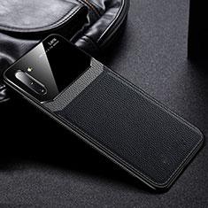 Silikon Hülle Handyhülle Ultra Dünn Schutzhülle Flexible 360 Grad Ganzkörper Tasche C06 für Samsung Galaxy Note 10 5G Schwarz