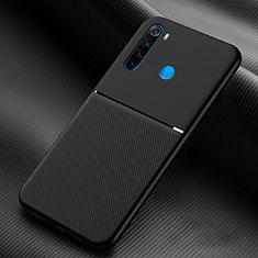 Silikon Hülle Handyhülle Ultra Dünn Schutzhülle Flexible 360 Grad Ganzkörper Tasche C06 für Xiaomi Redmi Note 8 Schwarz