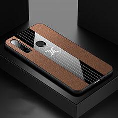 Silikon Hülle Handyhülle Ultra Dünn Schutzhülle Flexible Tasche C01 für Xiaomi Redmi Note 8 Braun
