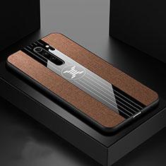 Silikon Hülle Handyhülle Ultra Dünn Schutzhülle Flexible Tasche C01 für Xiaomi Redmi Note 8 Pro Braun