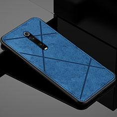 Silikon Hülle Handyhülle Ultra Dünn Schutzhülle Flexible Tasche C03 für Xiaomi Mi 9T Pro Blau