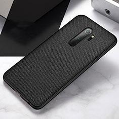 Silikon Hülle Handyhülle Ultra Dünn Schutzhülle Flexible Tasche C03 für Xiaomi Redmi Note 8 Pro Schwarz