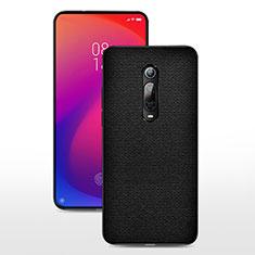 Silikon Hülle Handyhülle Ultra Dünn Schutzhülle Flexible Tasche C04 für Xiaomi Mi 9T Pro Schwarz