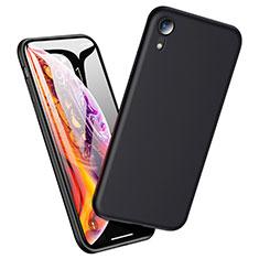 Silikon Hülle Handyhülle Ultra Dünn Schutzhülle für Apple iPhone XR Schwarz