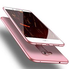 Silikon Hülle Handyhülle Ultra Dünn Schutzhülle für Huawei Enjoy 6S Rosa