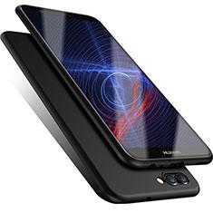 Silikon Hülle Handyhülle Ultra Dünn Schutzhülle für Huawei Enjoy 7S Schwarz