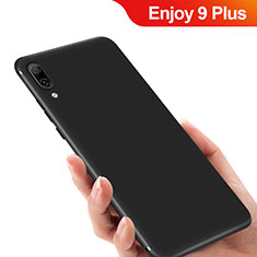 Silikon Hülle Handyhülle Ultra Dünn Schutzhülle für Huawei Enjoy 9 Plus Schwarz