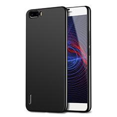 Silikon Hülle Handyhülle Ultra Dünn Schutzhülle für Huawei Honor 6 Plus Schwarz