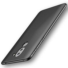Silikon Hülle Handyhülle Ultra Dünn Schutzhülle für Huawei Honor 6X Schwarz