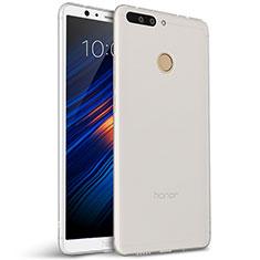 Silikon Hülle Handyhülle Ultra Dünn Schutzhülle für Huawei Honor 8 Pro Weiß