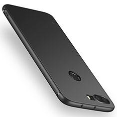 Silikon Hülle Handyhülle Ultra Dünn Schutzhülle für Huawei Honor 8 Schwarz