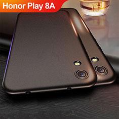 Silikon Hülle Handyhülle Ultra Dünn Schutzhülle für Huawei Honor Play 8A Schwarz