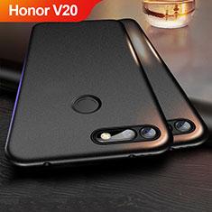 Silikon Hülle Handyhülle Ultra Dünn Schutzhülle für Huawei Honor V20 Schwarz