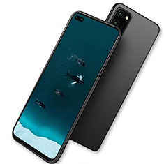 Silikon Hülle Handyhülle Ultra Dünn Schutzhülle für Huawei Honor V30 5G Schwarz