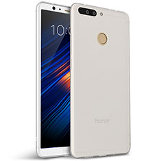 Silikon Hülle Handyhülle Ultra Dünn Schutzhülle für Huawei Honor V9 Weiß