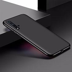 Silikon Hülle Handyhülle Ultra Dünn Schutzhülle für Huawei Nova 5 Schwarz