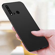 Silikon Hülle Handyhülle Ultra Dünn Schutzhülle für Huawei Nova 5i Schwarz