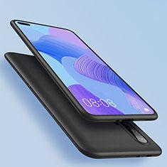Silikon Hülle Handyhülle Ultra Dünn Schutzhülle für Huawei Nova 6 Schwarz