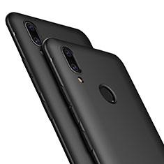 Silikon Hülle Handyhülle Ultra Dünn Schutzhülle für Huawei P Smart+ Plus Schwarz