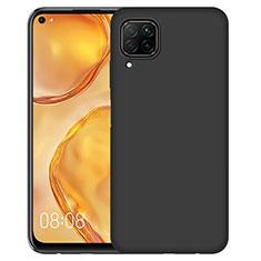Silikon Hülle Handyhülle Ultra Dünn Schutzhülle für Huawei P40 Lite Schwarz