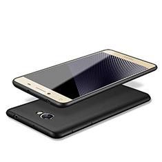 Silikon Hülle Handyhülle Ultra Dünn Schutzhülle für Huawei Y5 II Y5 2 Schwarz