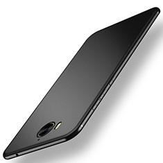 Silikon Hülle Handyhülle Ultra Dünn Schutzhülle für Huawei Y6 (2017) Schwarz