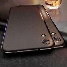 Silikon Hülle Handyhülle Ultra Dünn Schutzhülle für Huawei Y6 (2019) Schwarz