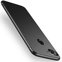 Silikon Hülle Handyhülle Ultra Dünn Schutzhülle für Huawei Y7 (2018) Schwarz