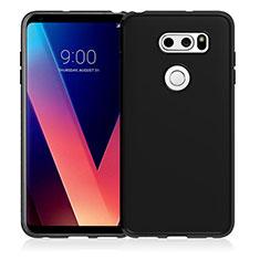 Silikon Hülle Handyhülle Ultra Dünn Schutzhülle für LG V30 Schwarz