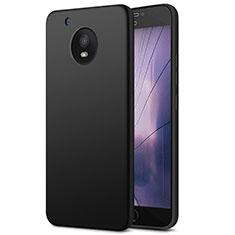 Silikon Hülle Handyhülle Ultra Dünn Schutzhülle für Motorola Moto E4 Plus Schwarz