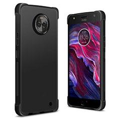 Silikon Hülle Handyhülle Ultra Dünn Schutzhülle für Motorola Moto X4 Schwarz
