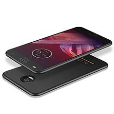 Silikon Hülle Handyhülle Ultra Dünn Schutzhülle für Motorola Moto Z Play Schwarz
